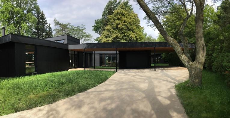Architecture d'une maison moderne